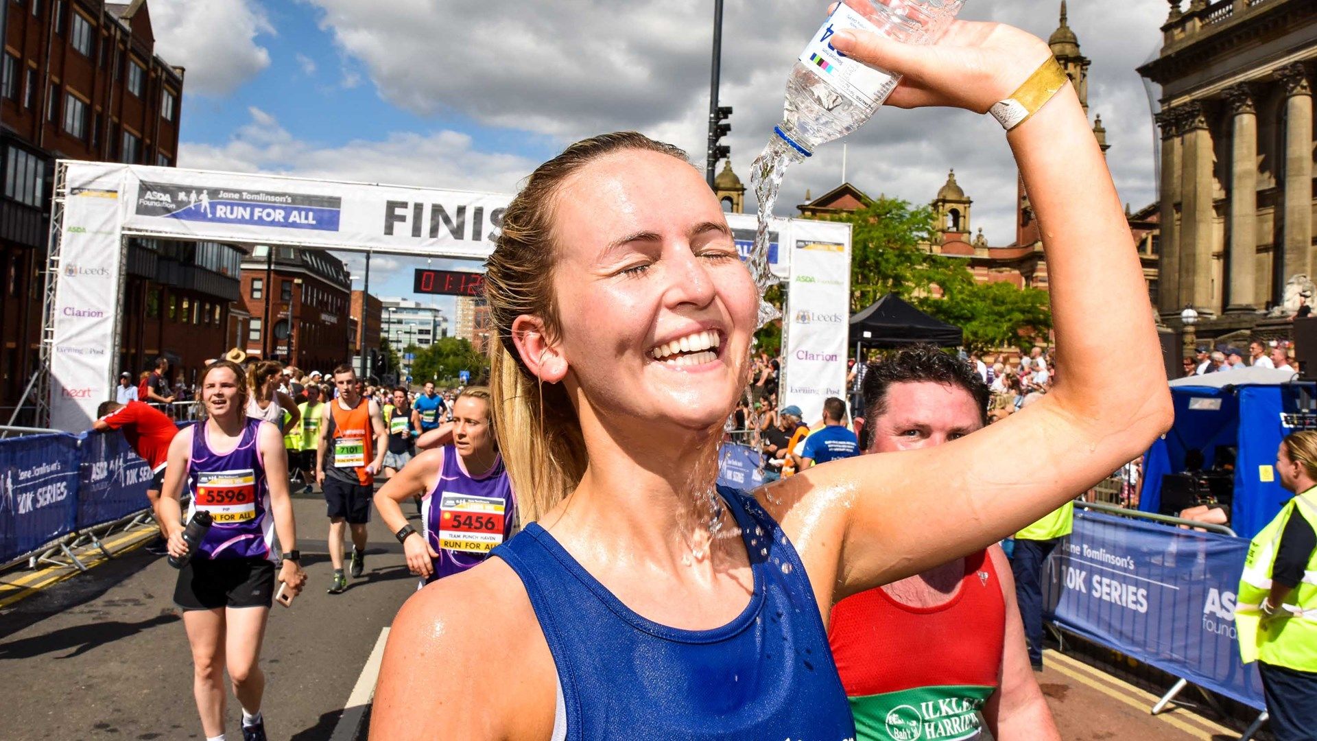 Finish Line - Jane Tomlinson Appeal